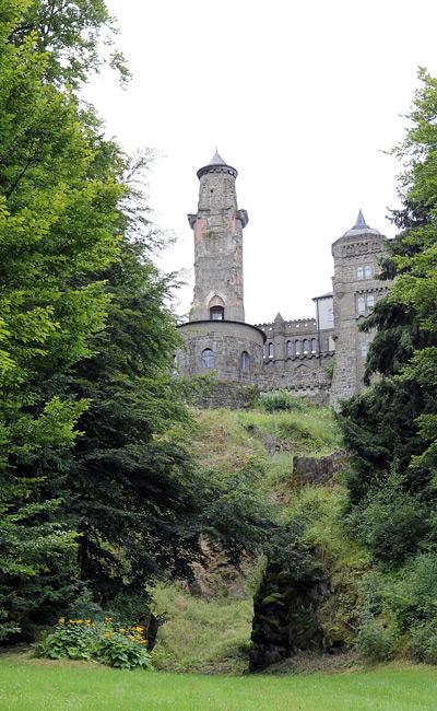 вид на замок Лёвенбург