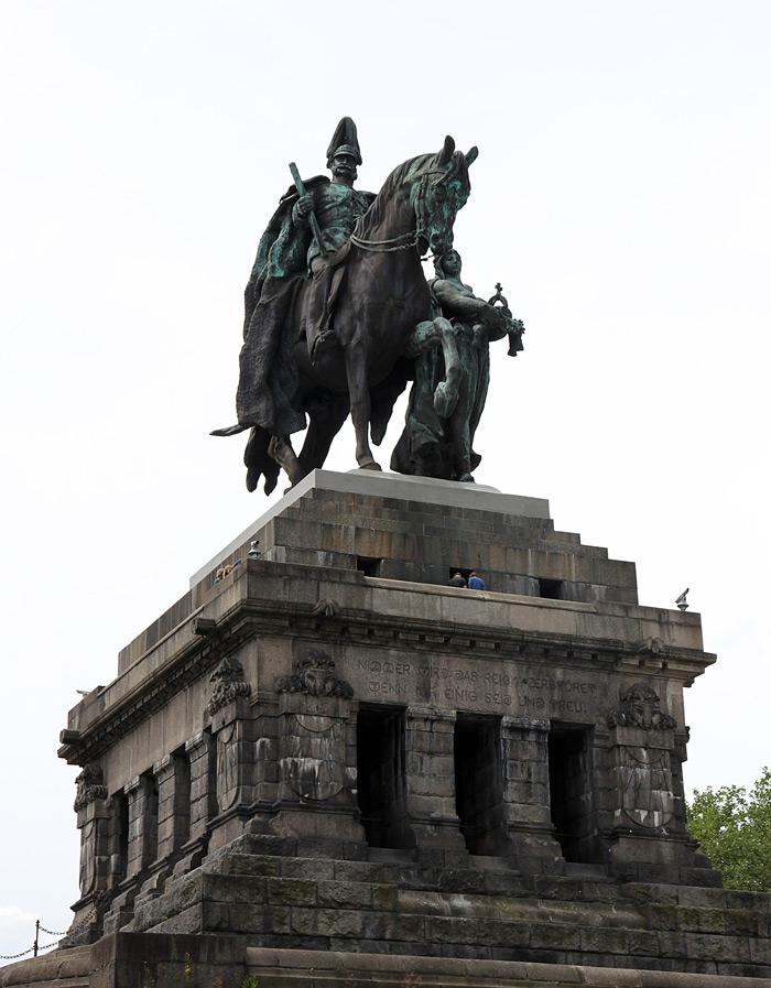 Кобленц. Статуя Вильгельма на Немецком углу - Татьяна Гладченко, 2012