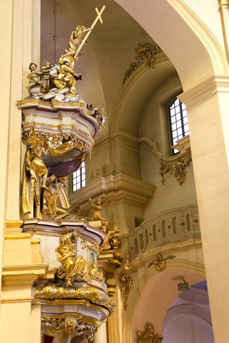 Собор Святого Юра — интерьер