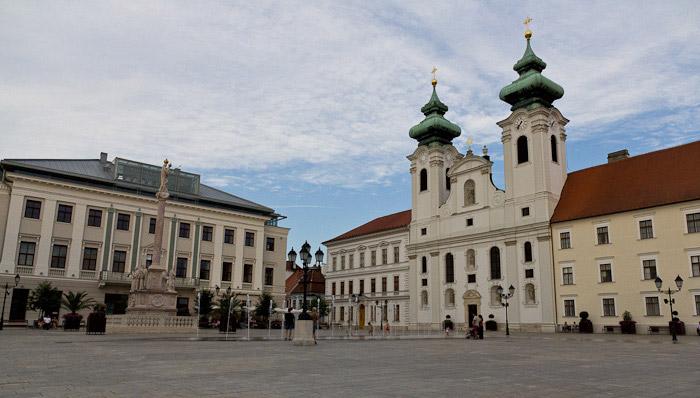 Дьёр, Győr - площадь Сечени - Татьяна Гладченко, 2012