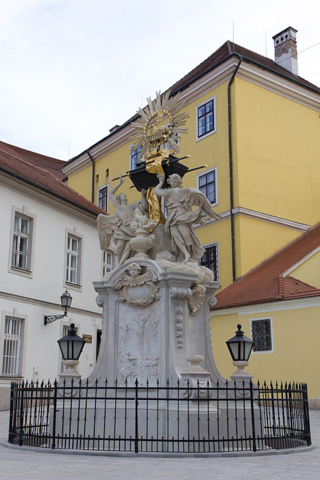 Дьёр, Győr - Ковчег Завета на площади Гутенберга - Татьяна Гладченко, 2012