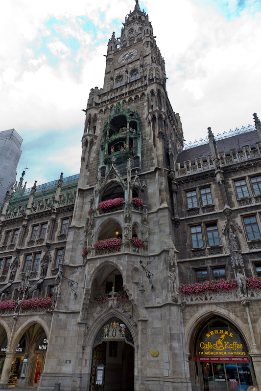 башня новой ратуши