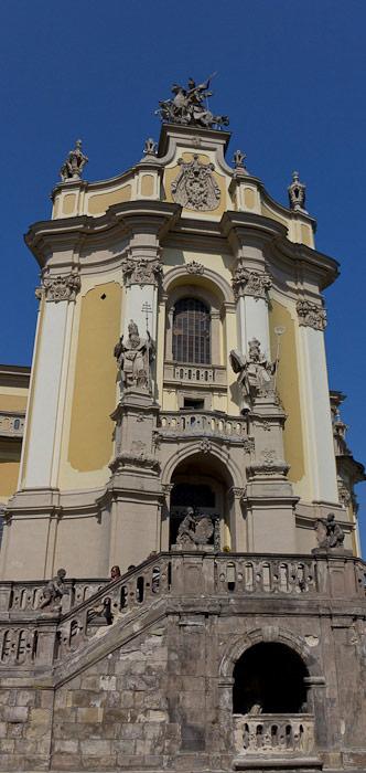 Собор Святого Юра — фасад