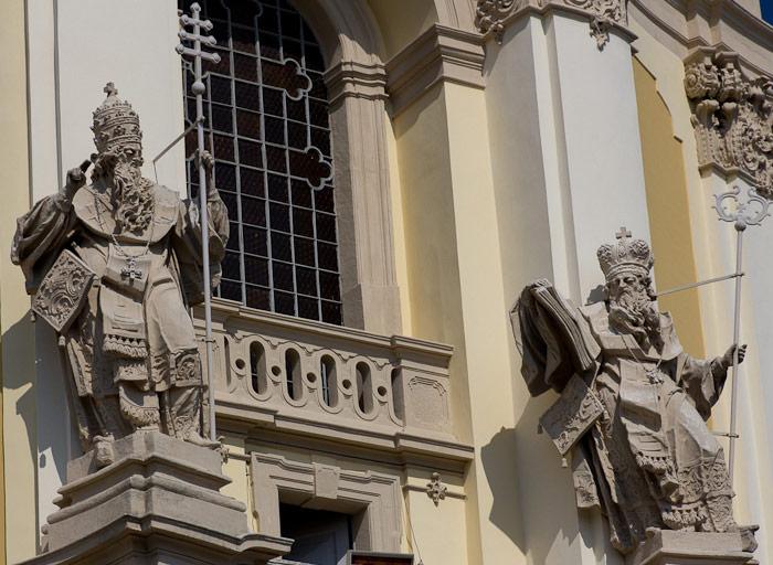 Собор Святого Юра — скульптуры