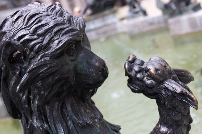 скульптура фонтана