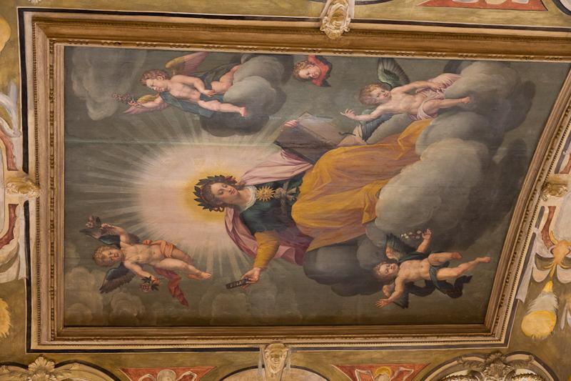 Антиквариум — потолочная роспись