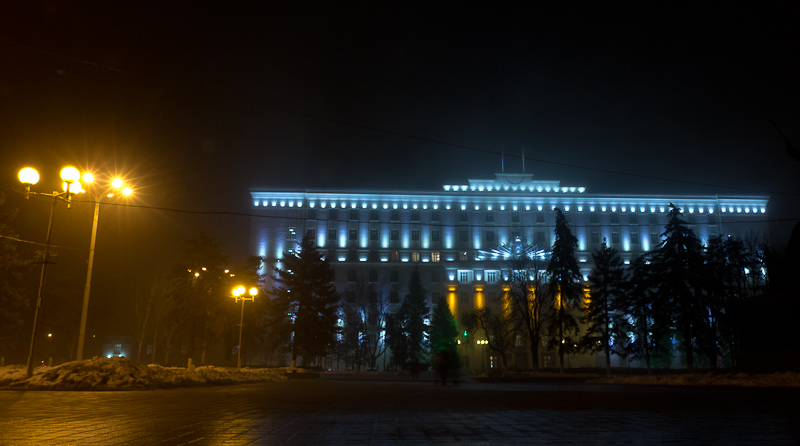 Туман в Ростове-на-Дону - Татьяна Гладченко, 2012