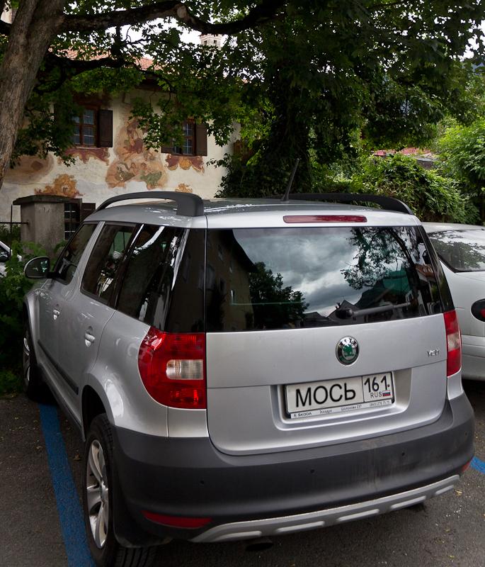 Мось на парковке. Обераммергау - Татьяна Гладченко, 2012