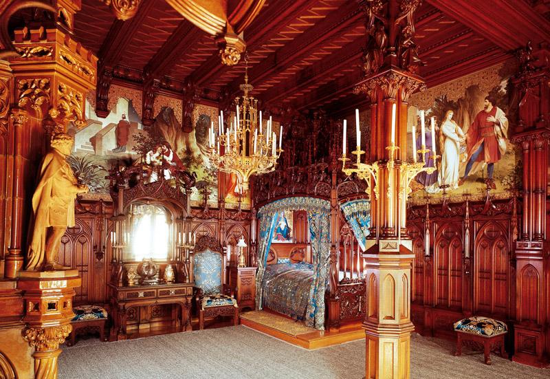 комнаты замка