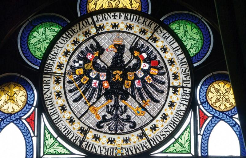 герб-витраж