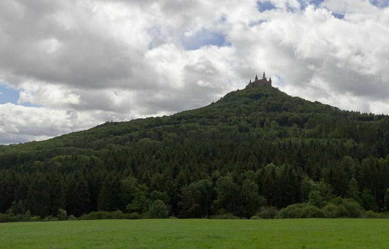 Вид на Замок Гогенцоллерн (Burg Hohenzollern) - Татьяна Гладченко, 2012