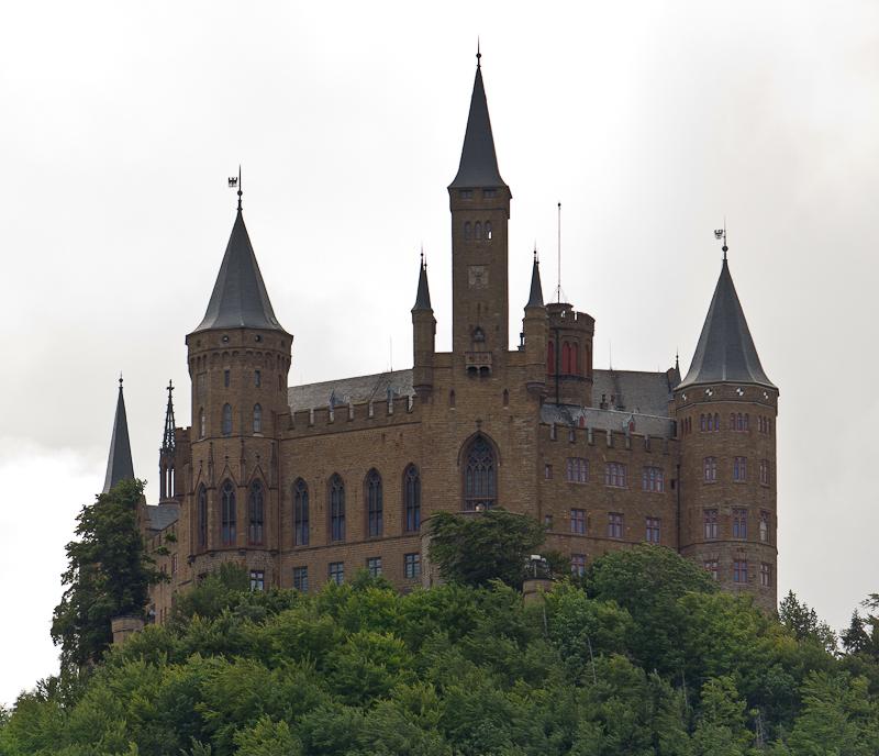 Замок Гогенцоллерн (Burg Hohenzollern) - Татьяна Гладченко, 2012