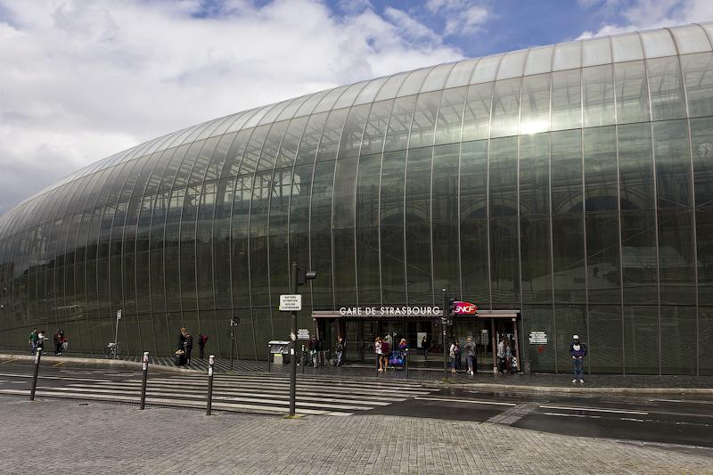 Вокзал в Страсбурге - Татьяна Гладченко, 2012
