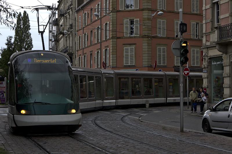Трамвайная колбаса - Страсбург (Strasbourg) - Татьяна Гладченко, 2012
