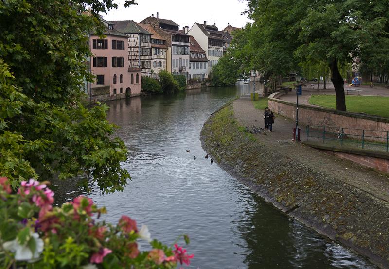 Набережная - Страсбург (Strasbourg) - Татьяна Гладченко, 2012