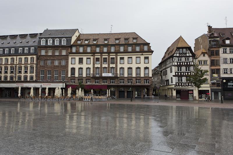 Площадь Клебера - Страсбург (Strasbourg) - Татьяна Гладченко, 2012
