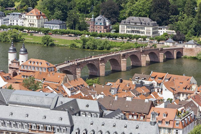 Старый Мост - Гейдельберг (Heidelberg) - Татьяна Гладченко, 2012