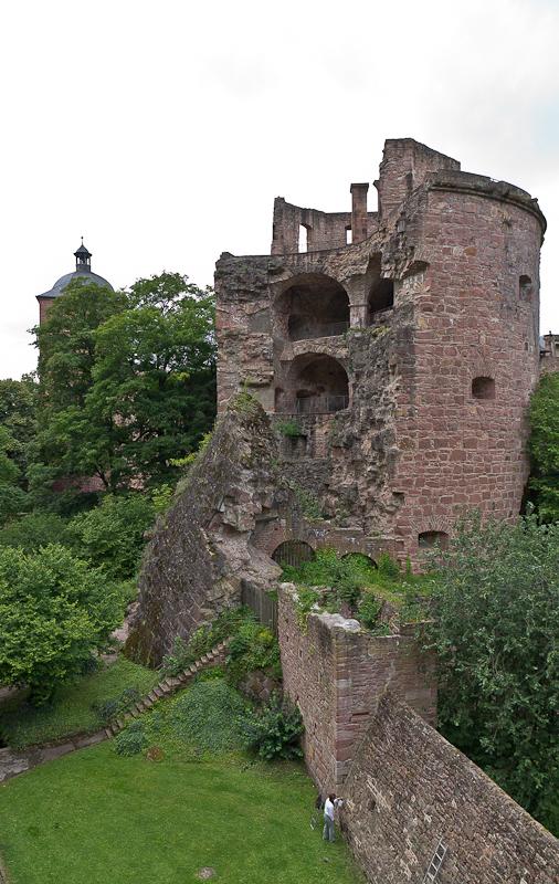 взорванная башня