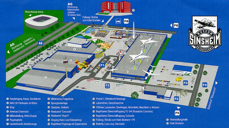 карта-план выставки