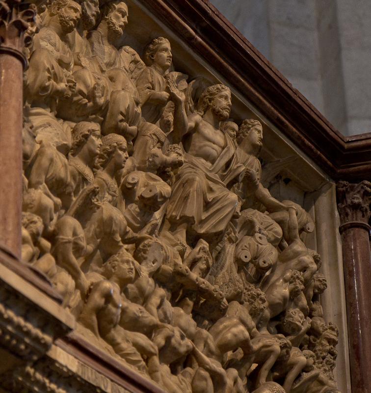 Nicola Pisano's Baptistery Pulpit in Pisa ©Татьяна Гладченко, 2013