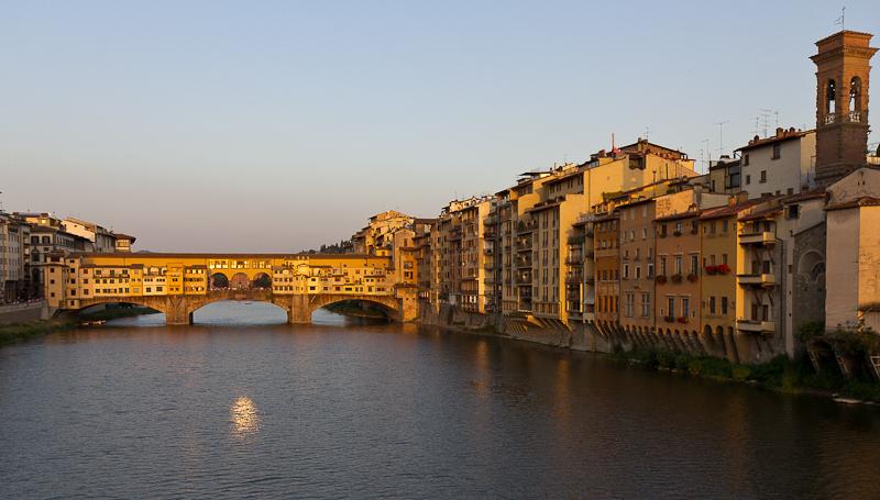 Мост Понте Веккьо, Флоренция © Татьяна Гладченко, 2013