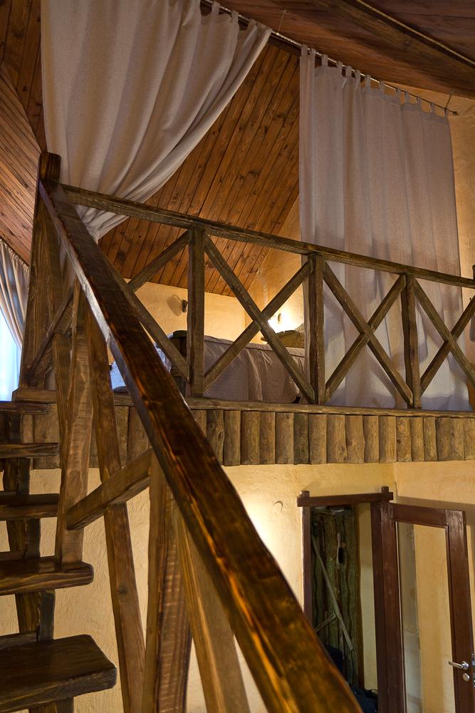 Древний Град - домик - вид на второй этаж