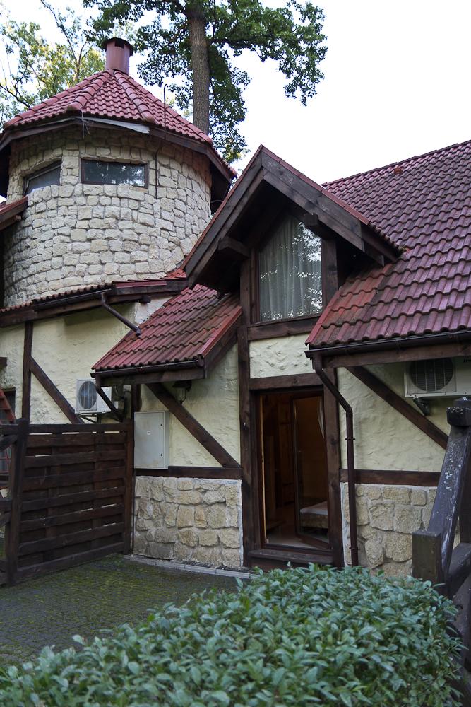 Древний Град - домик - вид с внутреннего дворика