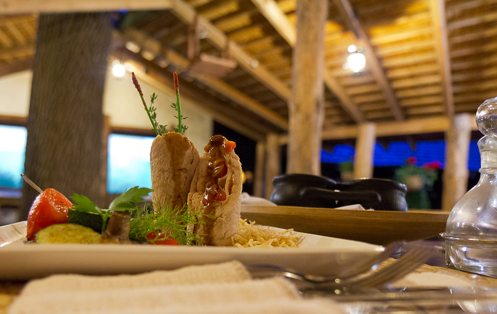 Древний Град - ресторан - одно из блюд