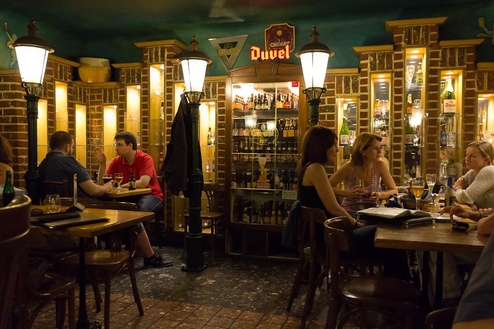 Belgian Brasserie (Belga Söröző), Budapest ©Татьяна Гладченко, 2013