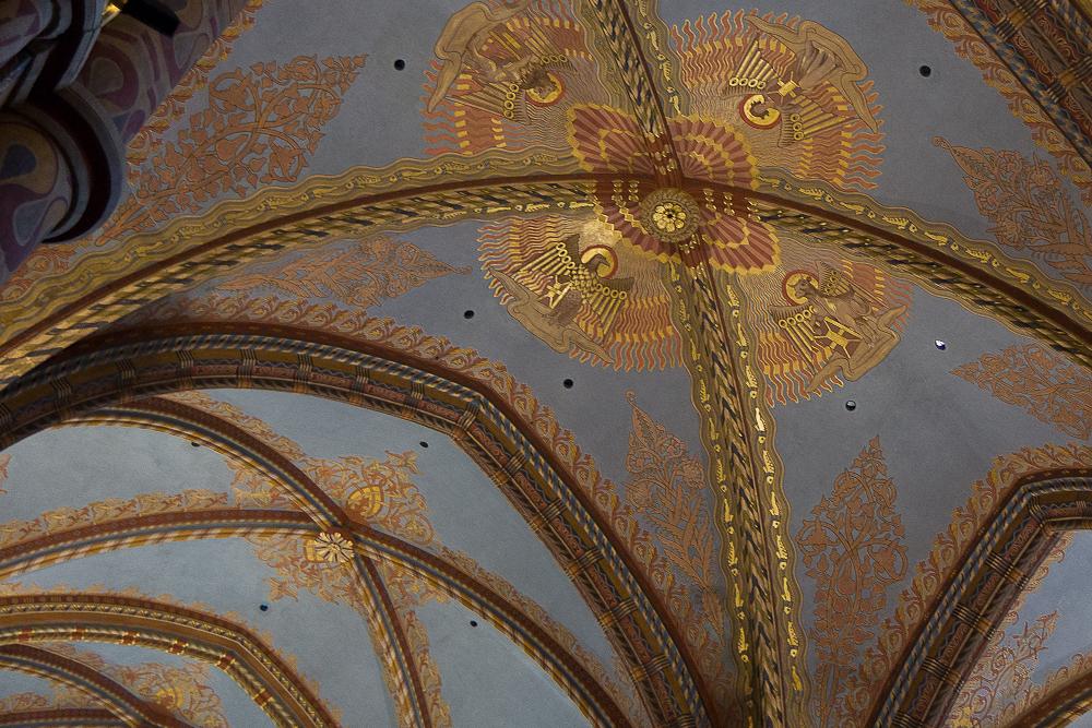 Церковь Святого Матьяша. Интерьер ©Татьяна Гладченко, 2013