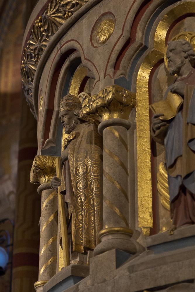 Церковь Святого Матьяша. Кафедра. Фрагмент ©Татьяна Гладченко, 2013