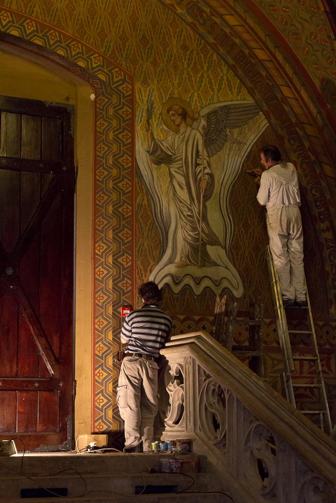 Будапешт. Церковь Святого Матьяша. Реставрация