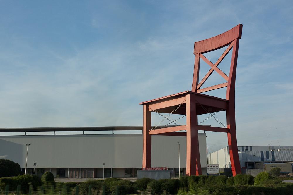Самый большой стул в мире от XXXLutz