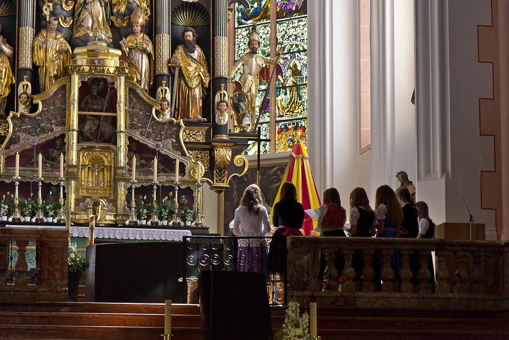 Церковь Св. Михаила. Мондзее.