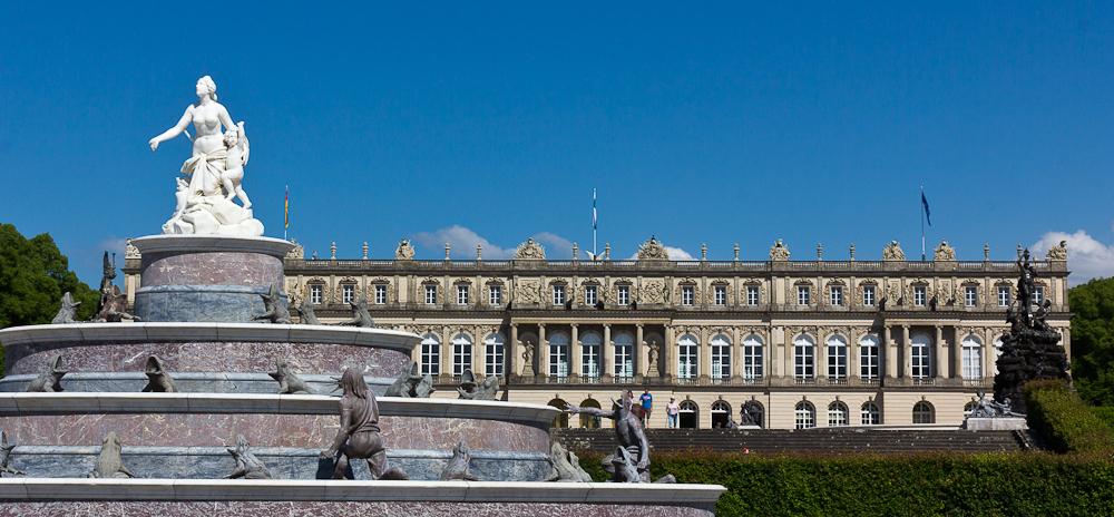 Дворец Херренкимзее (Neues Schloss Herrenchiemsee)
