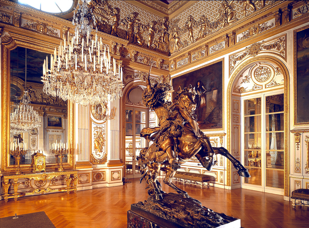 Дворец Херренкимзее (Neues Schloss Herrenchiemsee). Вторая приемная комната.