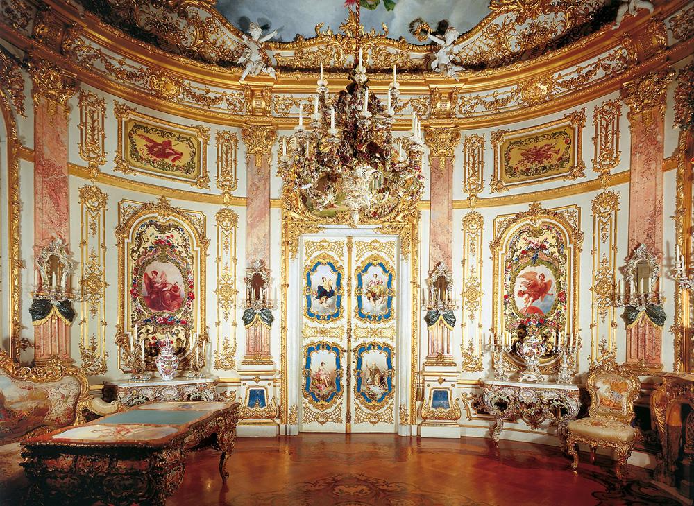 Дворец Херренкимзее (Neues Schloss Herrenchiemsee). Фарфоровый кабинет.