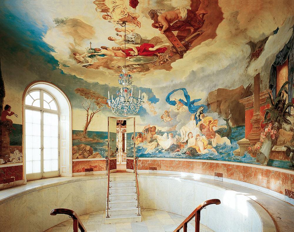 Дворец Херренкимзее (Neues Schloss Herrenchiemsee). Ванная комната.
