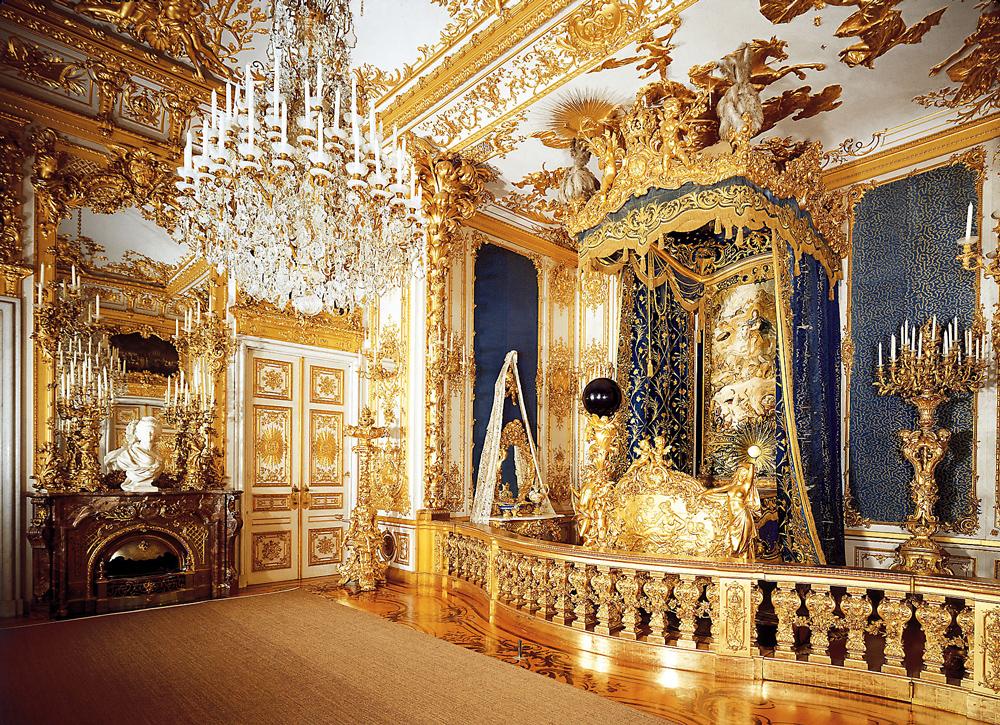 Дворец Херренкимзее (Neues Schloss Herrenchiemsee). Спальные покои.