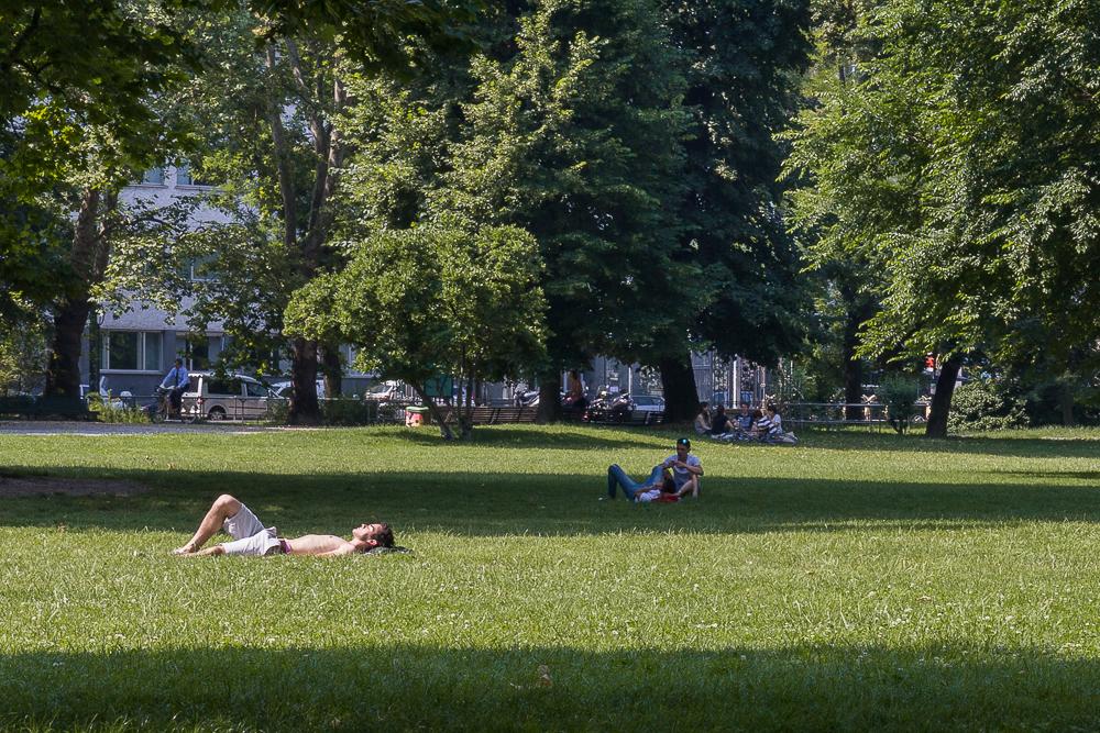 Милан. Парк © Татьяна Гладченко, 2013