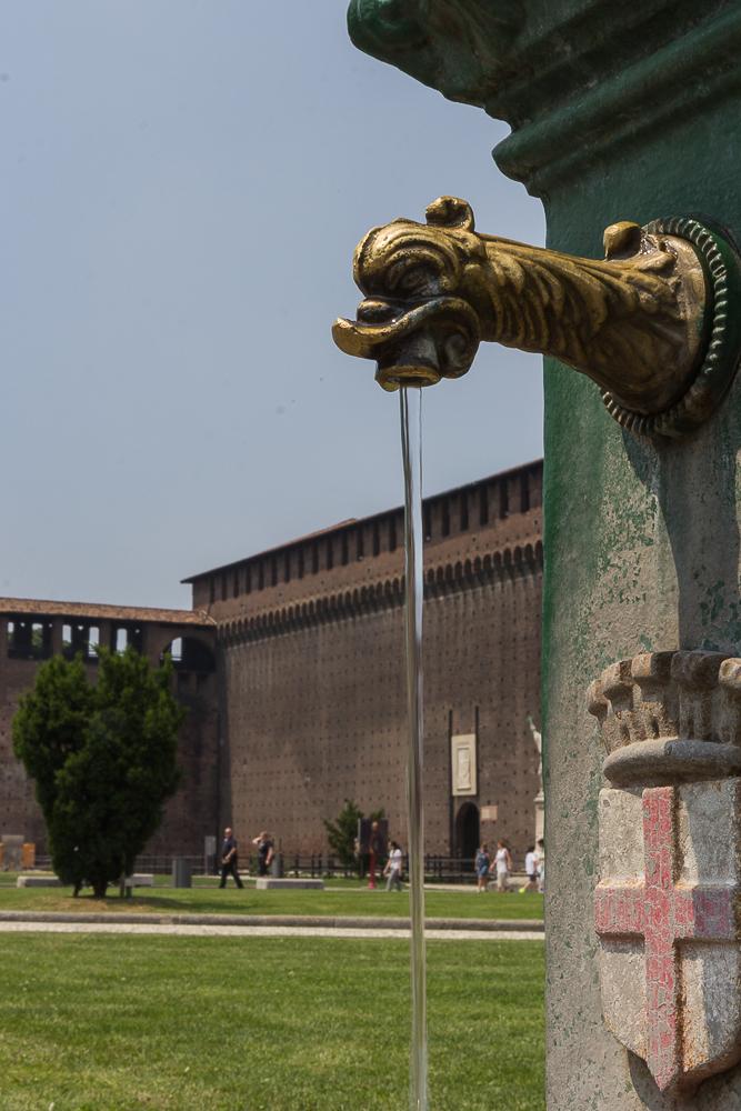 Милан. Замок Сфорца. © Татьяна Гладченко, 2013