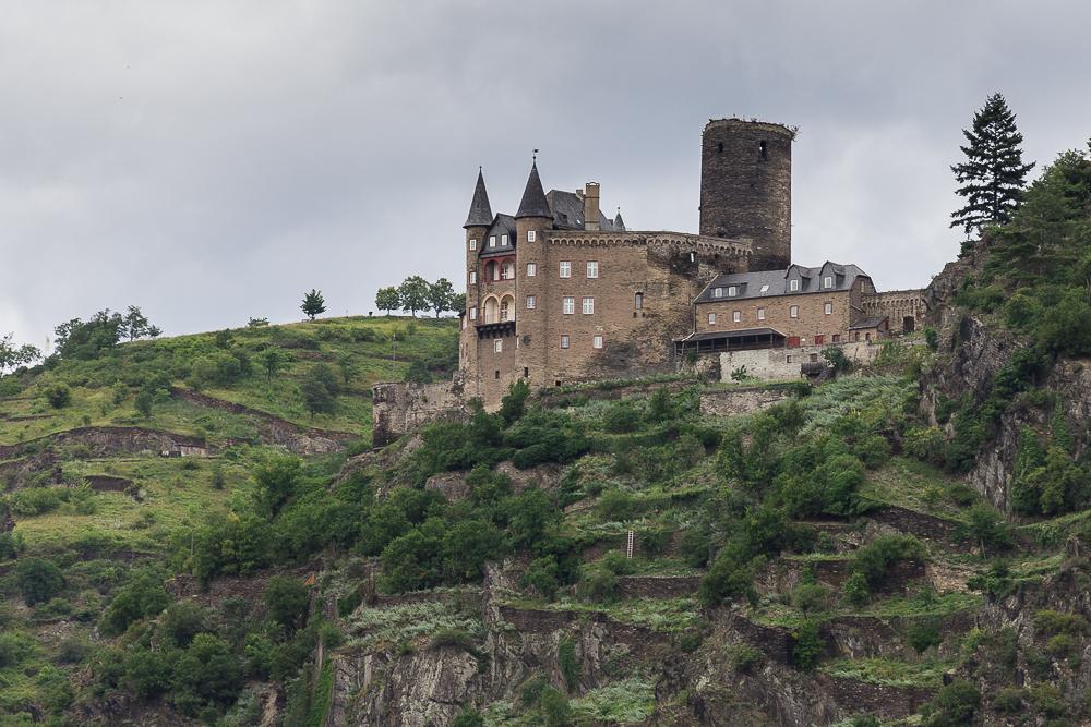 Замок Кац (Burg Katz)