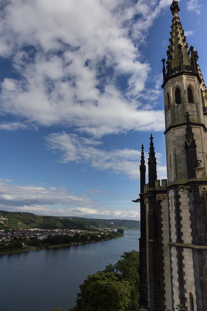 Вид из замка Штольценфельс