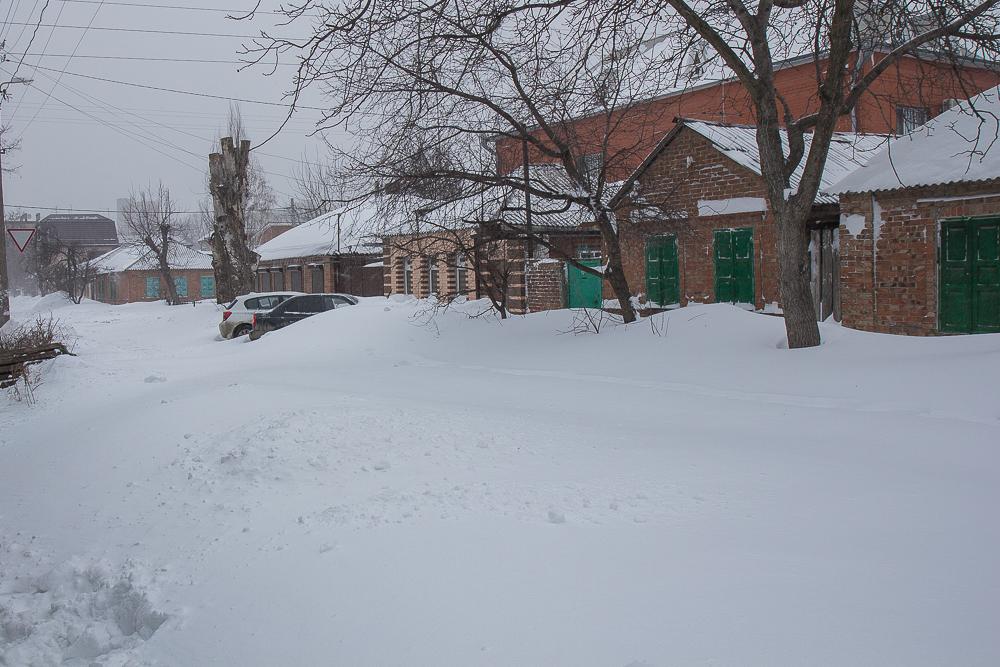 Снегопад в Ростове-на-Дону ©Татьяна Гладченко, 2014