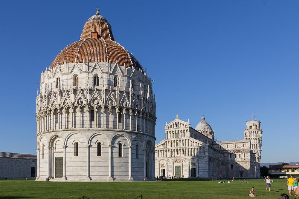 Пиза, Поле Чудес (Pisa, Piazza dei Miracoli) ©Татьяна Гладченко, 2013