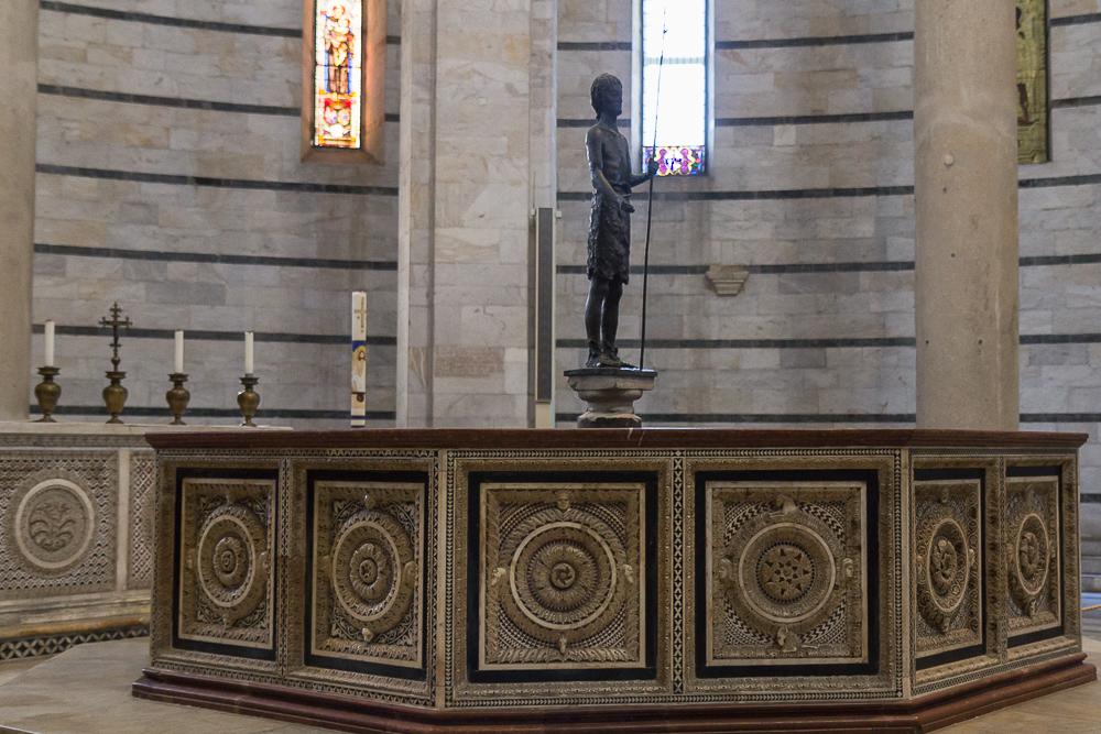 Баптистерий на Поле Чудес в Пизе ©Татьяна Гладченко, 2013