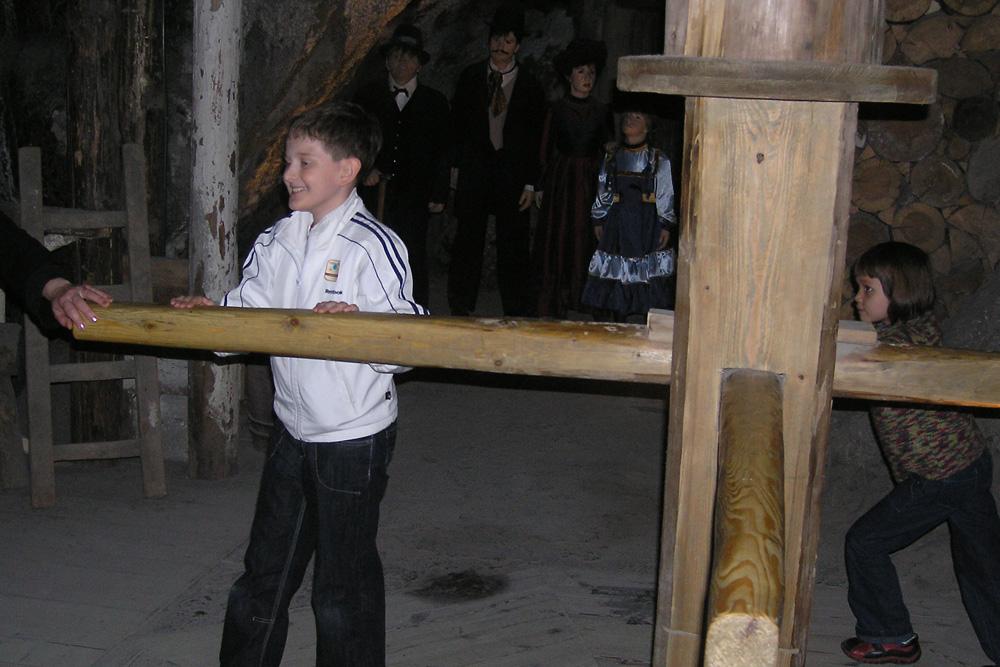 Соляная шахта в Величке, 2009