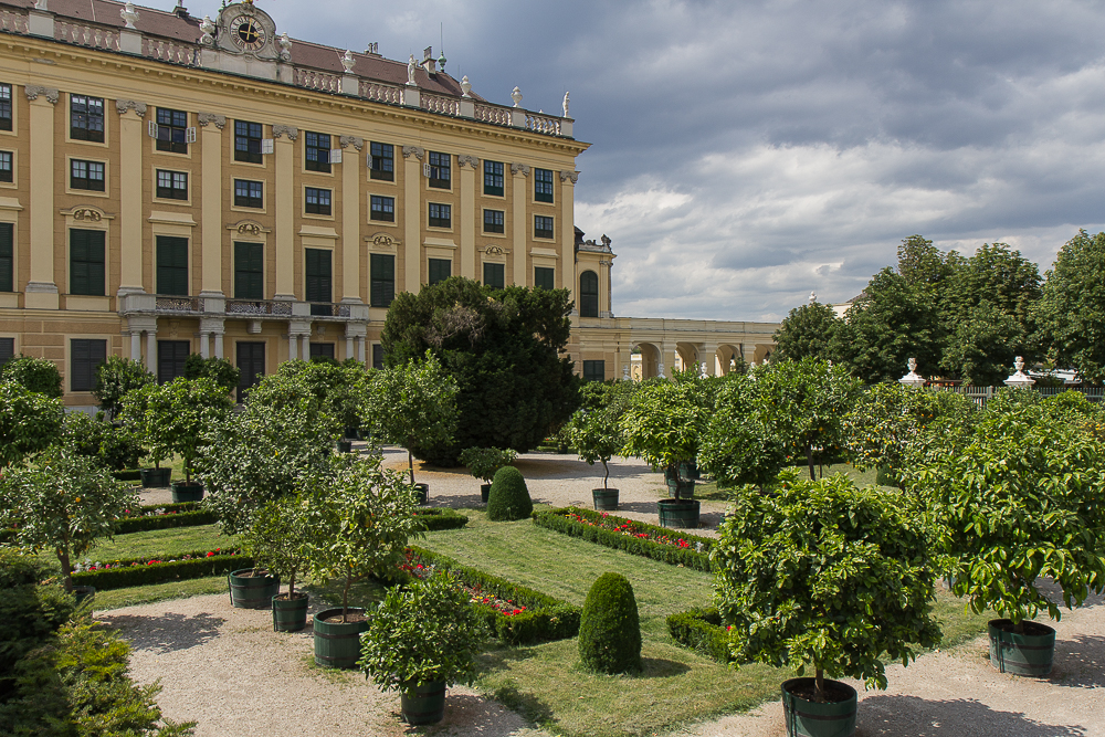 Дворец Шёнбрунн (Schloß Schönbrunn) ©Татьяна Гладченко, 2014