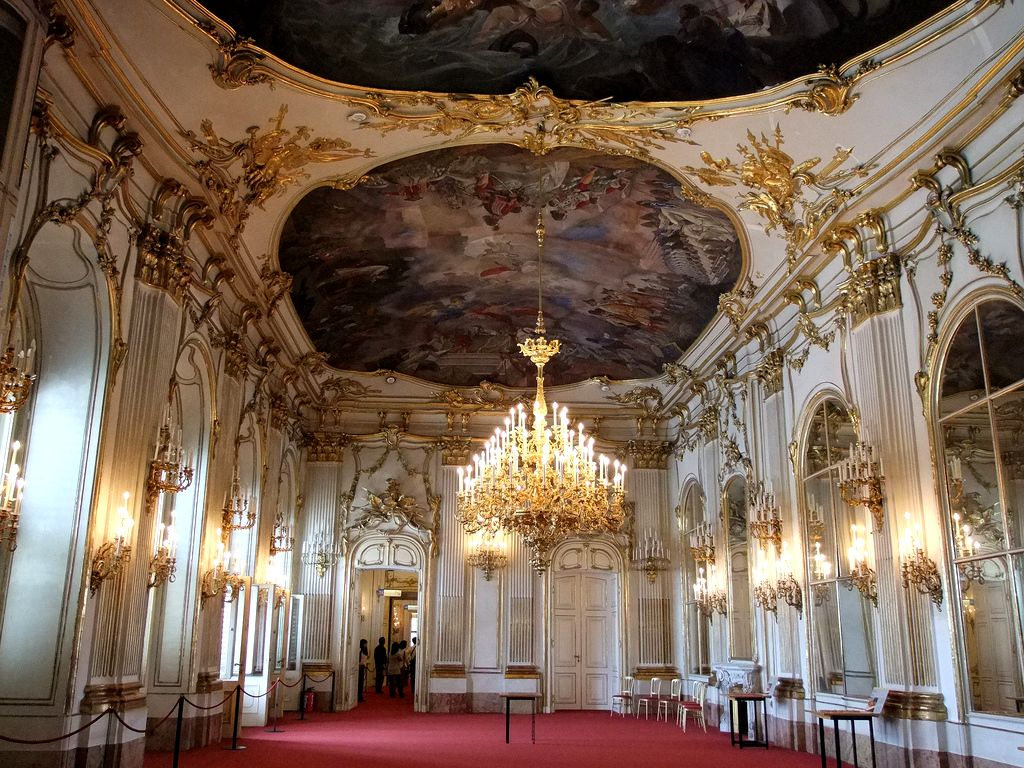 Дворец Шёнбрунн (Schloß Schönbrunn)