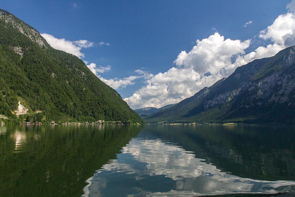 Гальштатское озеро (Hallstatter See) ©Татьяна Гладченко, 2014